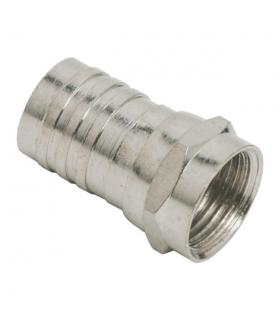 Fisa F cablu RG6 sertizabil