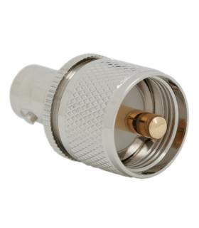 Adaptor mama BNC la tata UHF pin aurit