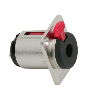 Mufa Jack 6.3 mm stereo mama cu inchdere de siguranta