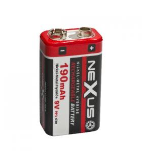Acumulator E-block 9V PP3 6HR061 Ni-Mh 190mAh Nexus