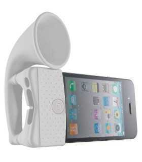 Iphone horn Amplificator acustic pt. telefoane silicon