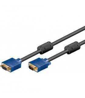 Cablu prelungitor Full HD VGA 5m 1920x1080 Goobay