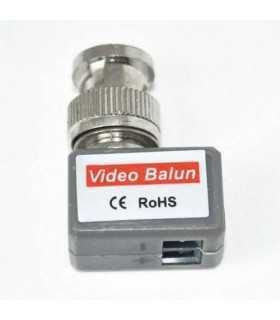 Video balun la semnal video prin cablu UTP FTP