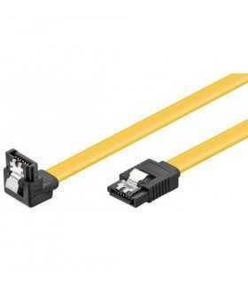 Cablu hdd 90 sata L tata la sata L tata 0.3m clip 6GBit/s Goobay