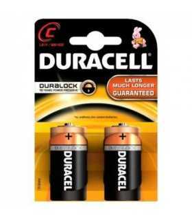 Baterii alcaline baby C R14 Duracell Simply