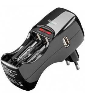 Incarcator Ni-Mh/Ni-Cd AA/AAA LED Usb 5V 1A Tecxus
