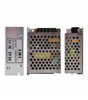 Sursa alimentare in comutatie 220VAC la DC 5V 30W 6A