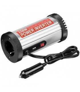 Invertor 12VDC - 230VAC unda sinus modulat 150W +Usb Goobay