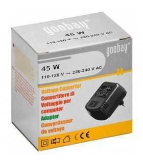 Convertor de tensiune 45W 230VAC de la 110VAC Goobay
