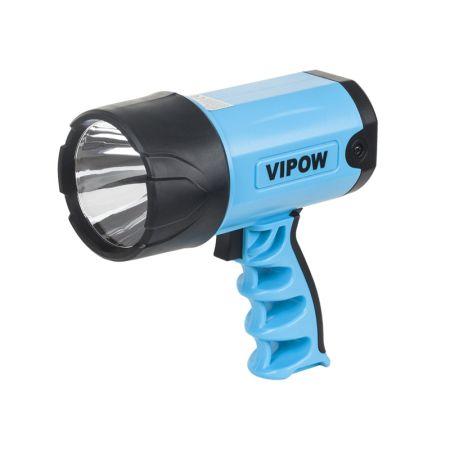 Lanterna 3W Cree LED cu acumulator Li-ion 3.7V 1500mA incarcare 12/230VVipow