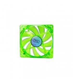 Ventilator Xfan 120u g/b green 120mm uv LED Deepcool