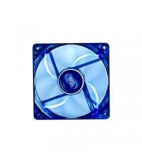 Ventilator Wind Blade 80mm LED Fan 12V albastru Rulmenti Hydro Bearing Deepcool