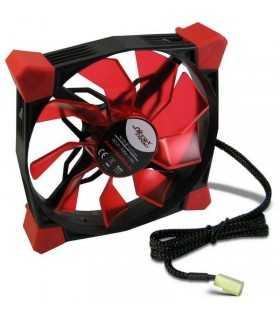 Ventilator Inter-tech cobanitrox xtended N-120-Red LED 120mm 12V