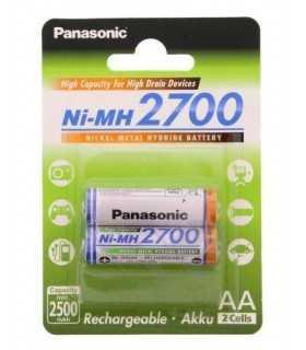 Acumulatori AA Panasonic Ni-Mh 2700mAh 2buc