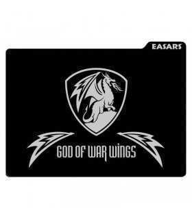 Mousepad easars god of war wings gaming mouse