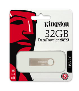 Flash drive 32GB SE9 Silver metalic Kingston