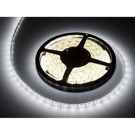 Banda LED 5m 12V 24W 3300lm 6500K protectie IP65 alb rece