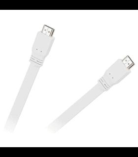 Cablu Hdmi alb plat v1.4 1.8m Cabletech