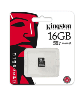 MicroSD card 16GB Clasa 4 Kingston