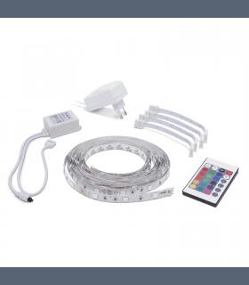 Set Banda LED RGB 5m IP20 Phenom