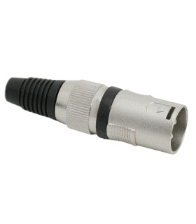 Mufa tata XLR 3 poli protectie pentru cablu