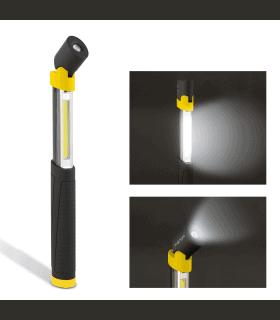 Lampa service cu COB-LED telescopic si cu cap rabatabil Phenom