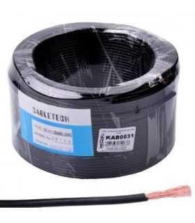 Cablu coaxial RG174 50 ohmi 2.8mm PVC negru CABLETECH