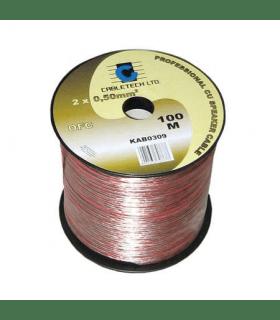 Cablu difuzor OFC cupru 4mm 100m Cabletech