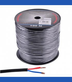 Cablu difuzor rotund 2x2.50mm cu protectie bumbac 100m