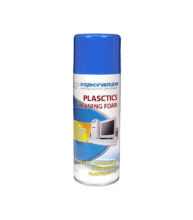 Spray cu spuma curatare suprafete din plastic Esperanza