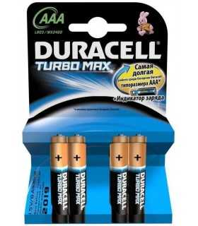 Baterii alcaline Micro AAA R03 MX2400 Duracell Turbo Max