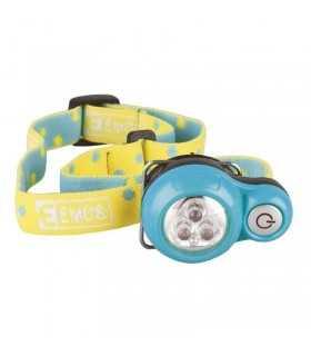 Lanterna pentru cap copii cu 3x5mm LED 2xCR2032 dist. 12m 55h Emos