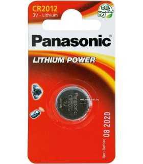 Baterie buton litiu Panasonic CR2012