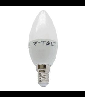 Bec LED E14 6W 2700K alb cald V-TAC