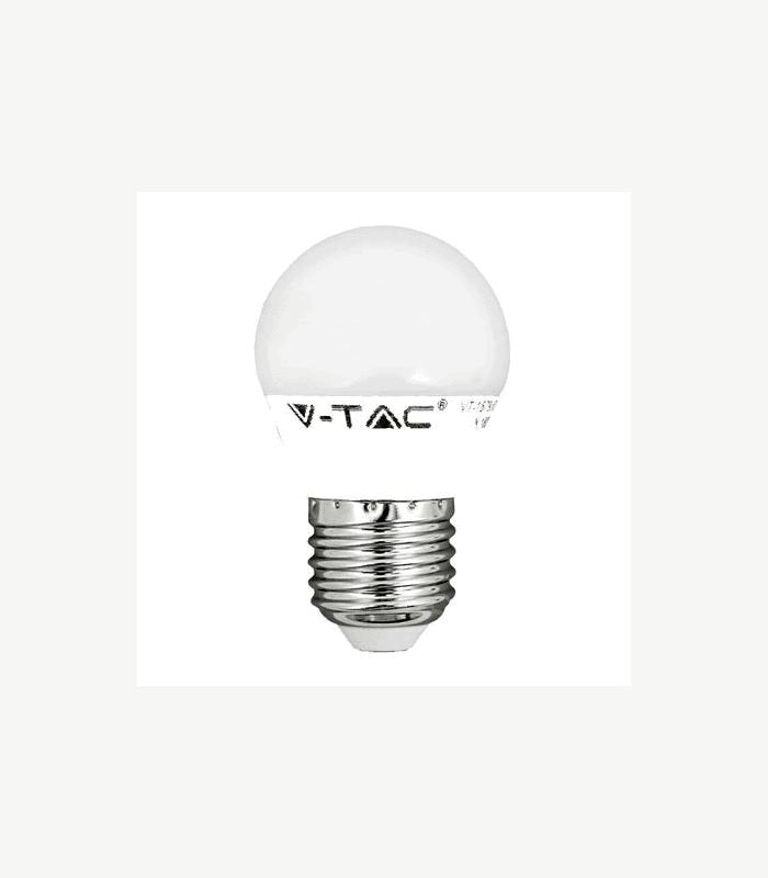 Bec LED E27 6W G45 4500K alb neutru V-TAC