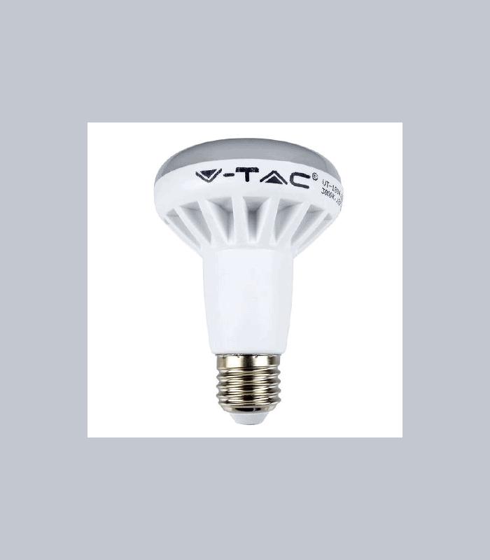 Bec LED E27 10W R80 3000K alb cald V-TAC