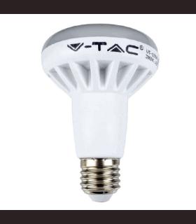 Bec LED E27 10W R80 6400K alb rece V-TAC