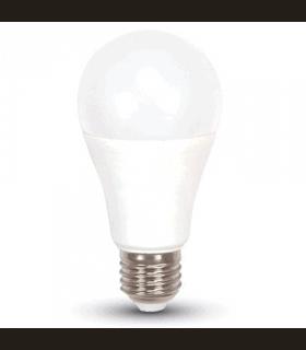 Bec LED A60 E27 9W 4500K alb neutru 3 step dimmer V-TAC