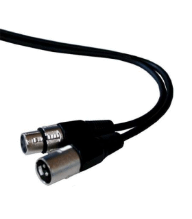 Cablu prelungitor XLR tata la XLR mama 5m ibiza