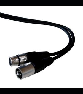 Cablu XLR tata la XLR mama 5m