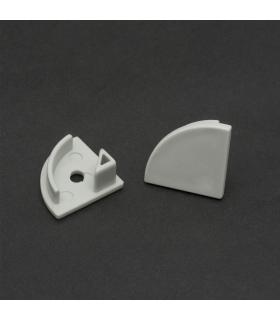 Capac terminal pentru profile aluminiu LED Phenom