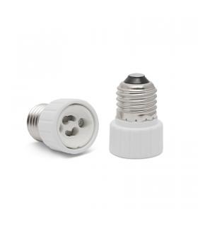 Soclu adaptor E27-GU10