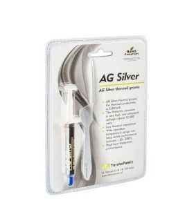 Pasta termoconductoare pe baza de argint AG Silver 3.8 W/m.K. 3gr AG TermoPasty