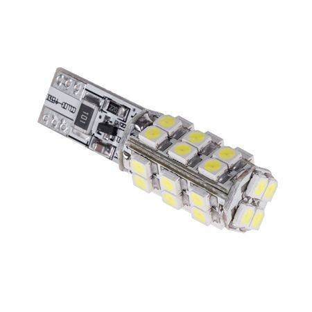 Bec auto CANBUS T1 12V 28x3228 SMD alb Vipow
