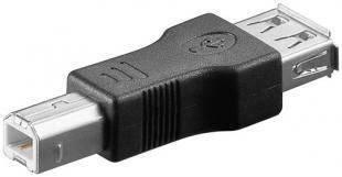 Adaptor USB 2.0 A mama - USB B tata Goobay