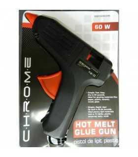 Pistol de lipit plastic 60W Chrome