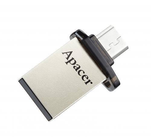 Memorie flash OTG /USB 2.0 16GB Apacer negru