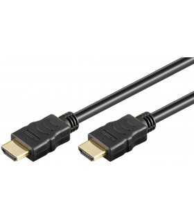 Cablu HDMI 2.0 cu ethernet 19p - HDMI 19p aurit OFC 5m Goobay