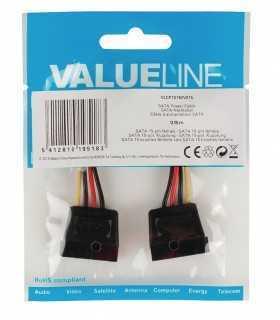 SATA power cable SATA 15 pini mama - SATA 15 pini mama 0.15m Valueline