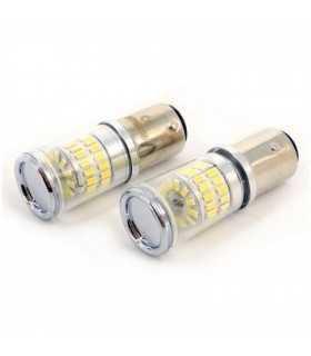 LED de frana Canbus BA15S 12V 3.5W 400lm 6000K set 2buc CAN122 Carguard